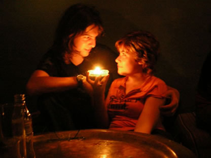 Noche romantica en Conil xD